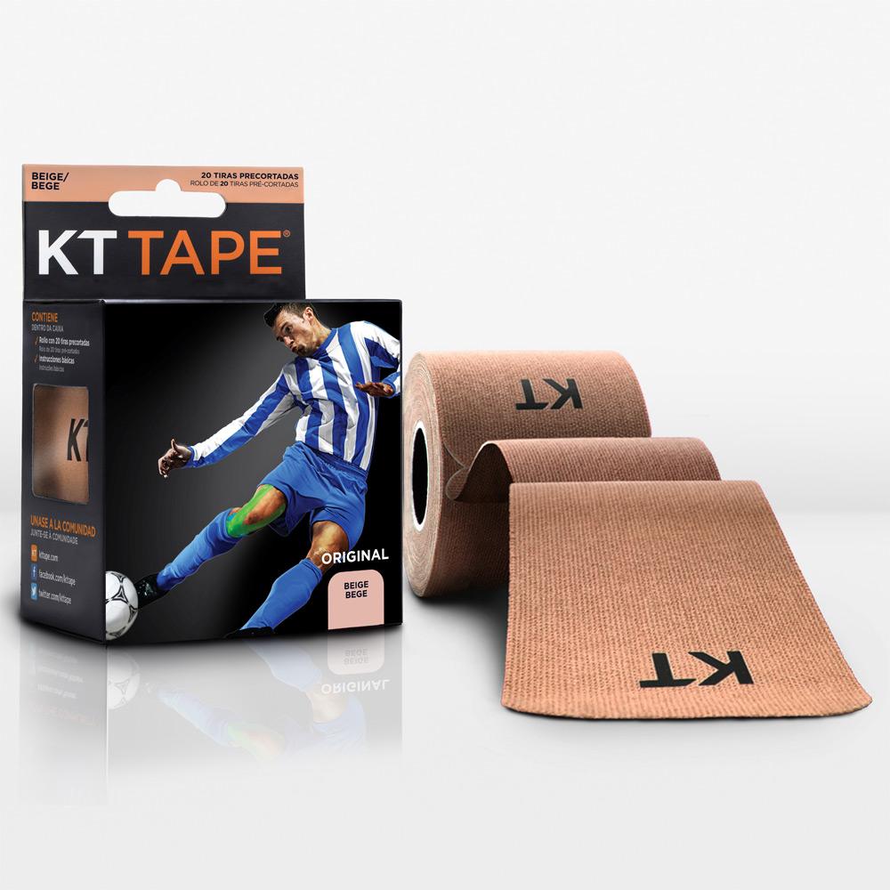 Kt Tape Pre Cortado de Algodón Beige