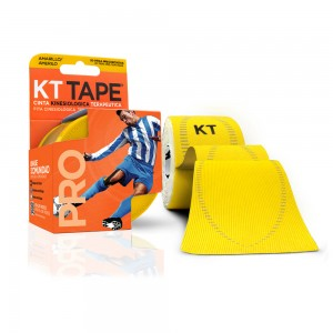 Kt Tape Pre Cortado Pro Sintético Amarillo