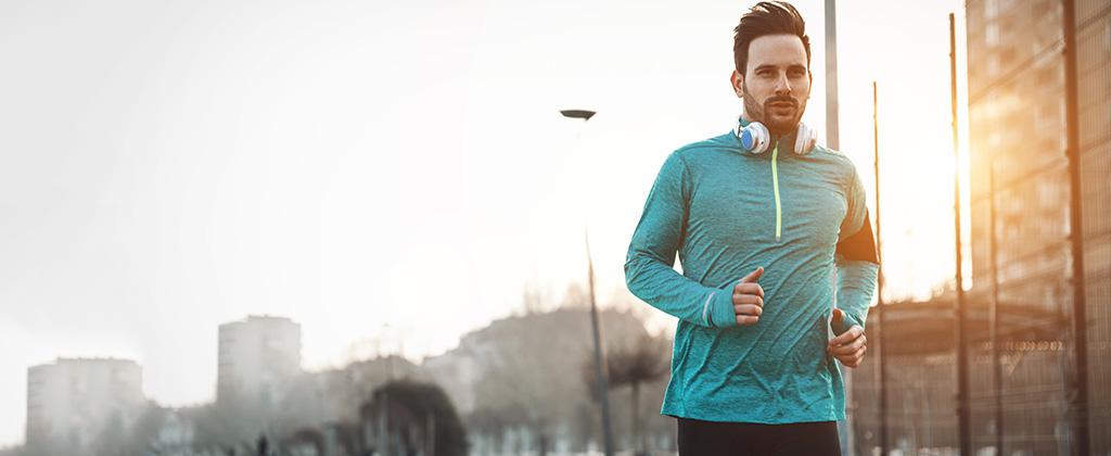 Si vas a correr, respira adecuadamente